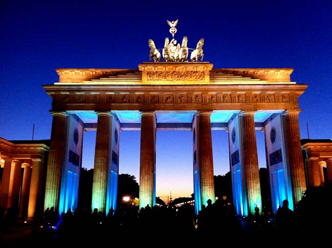 A Berlino per il Festival of Lights