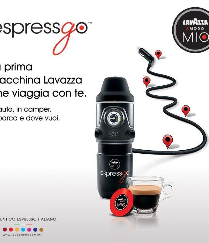 Con Lavazza EspressGo l'espresso diventa nomade