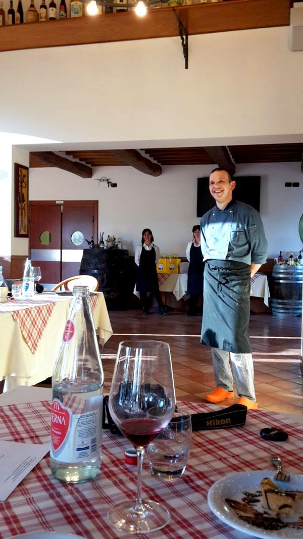 Lo chef Vladyslav Zaykovskyy
