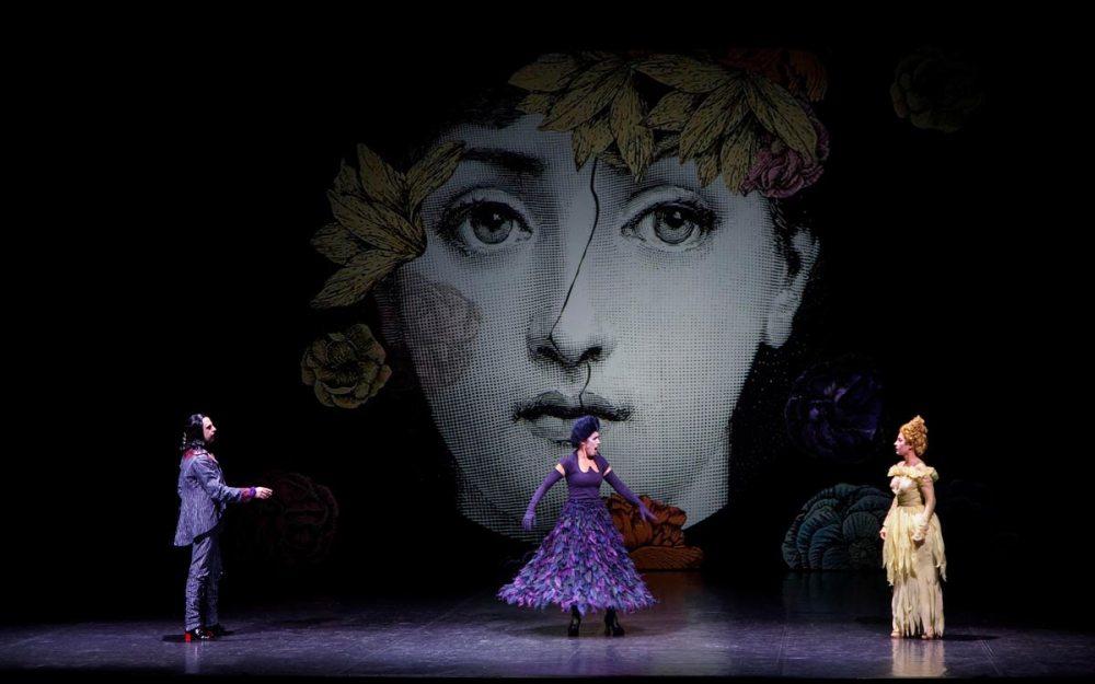 Una scena di Don Giovanni, foto Arianna Sanesi