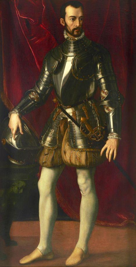 Alessandro Allori, Ritratto di Francesco I