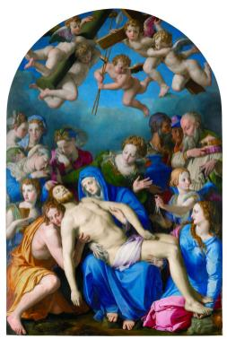 Bronzino, Cristo deposto
