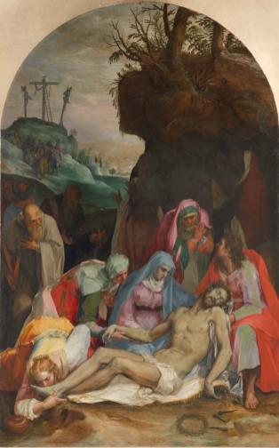 Pietro Candido, Compianto su Cristo morto