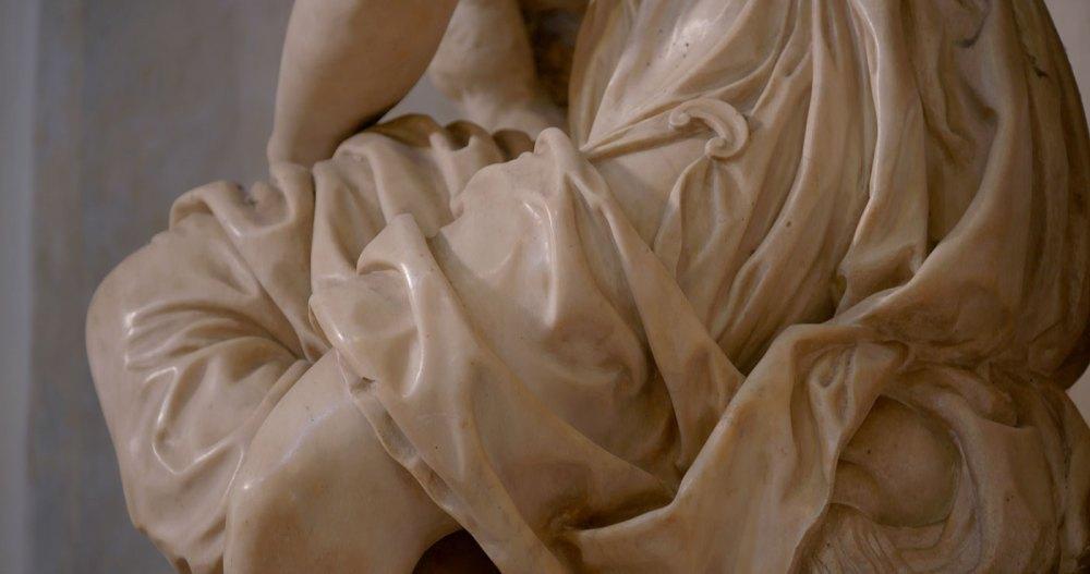 Dettaglio dell'Allegoria della pittura