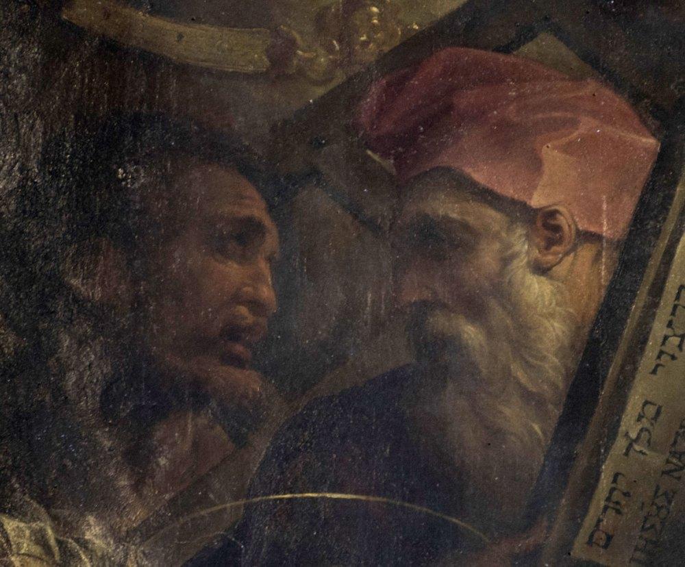 Portraits-of-Michelangelo-and-Rosso-Fiorentino_-Buonarroti-altarpiece_