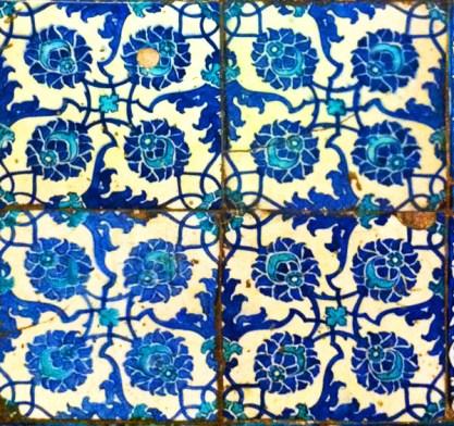 Piastrelle decorate, Moschea Yami, Istanbul (Foto: Caterina Chimenti / Lonely Traveller, licenza CC 2.0)