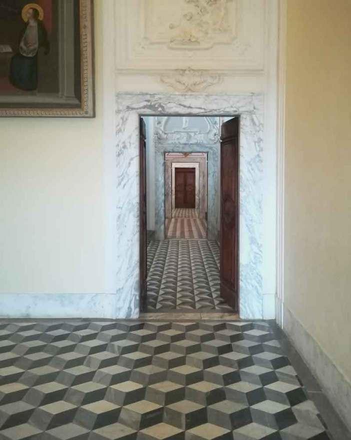 Certosa_Calci_teoria_stanze_pavimento
