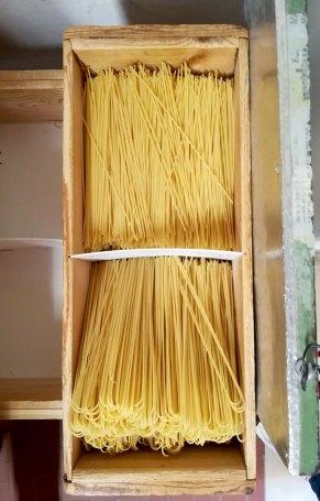 Pastificio Martelli, gli spaghetti