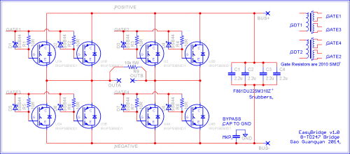 small resolution of schematic for my new 8 igbt bridge layout
