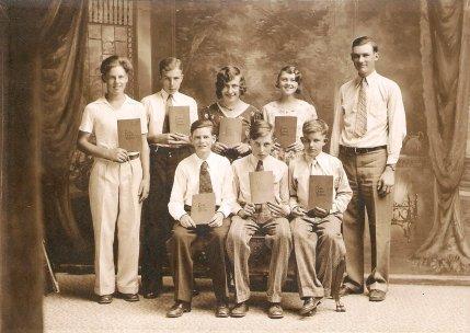 Class of 1932 - 8th Grade Graduation