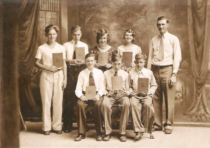 Class of 1932 - 8th Grade Graduation