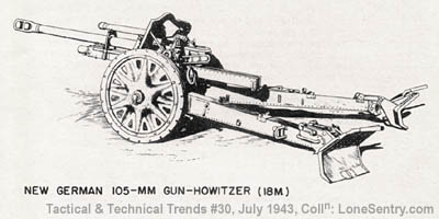 Lone Sentry: New German 105-mm Gun-Howitzer (WWII Tactical