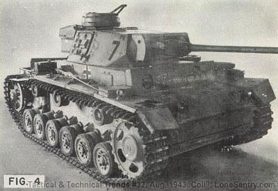 [Figure 4: German Panzer III (PzKw 3)]