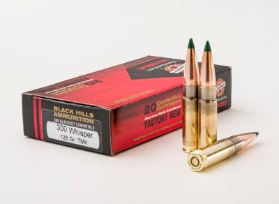 Black Hills Ammunition 300 Blackout / Whisper 125gr Sierra Tipped MatchKing