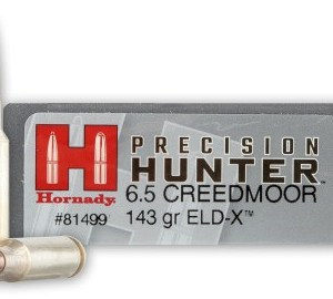 Hornady 6.5 Creedmoor 143gr ELD-X Precision Hunter