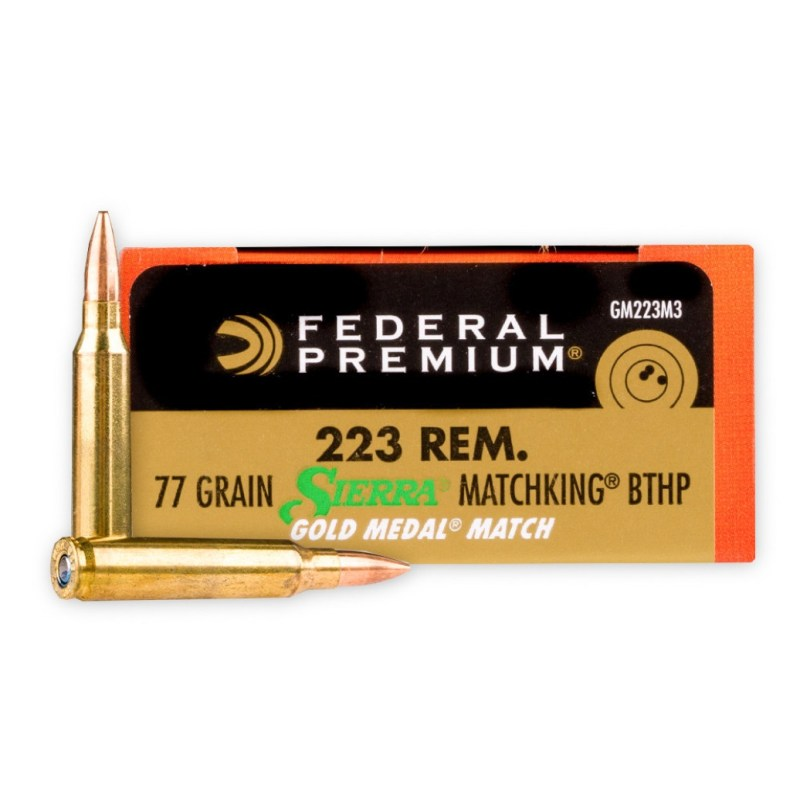 Federal Gold Medal Match 223 Remington