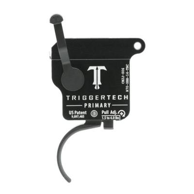 TriggerTech Right Hand Rem 700 Primary Trigger Yes Curved PVD Black