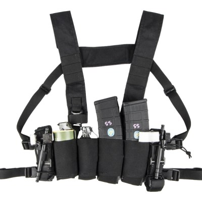 Spiritus Systems Bank Robber Chest Rig Black