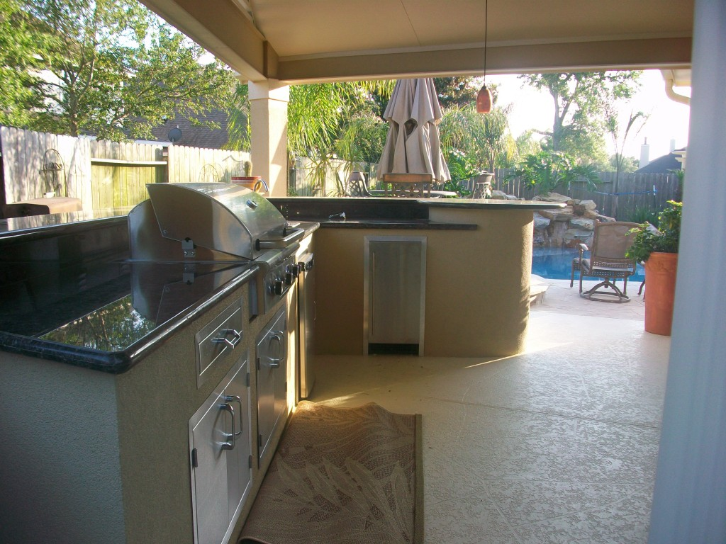 Custom Houston Outdoor Kitchens  Lone Star Patio Builders