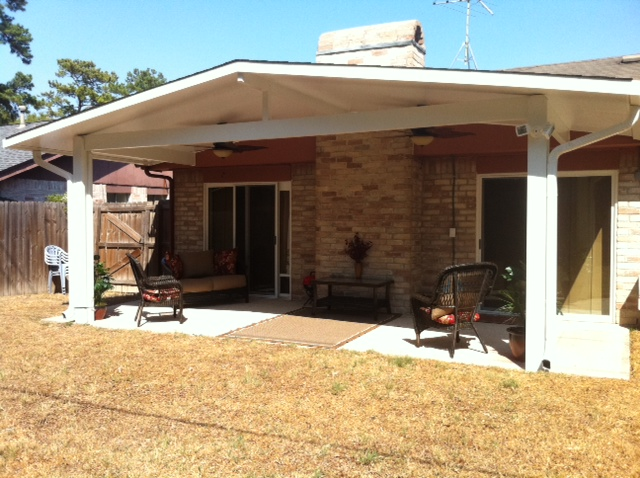 Patio Cover Construction  Lone Star Patio Builders