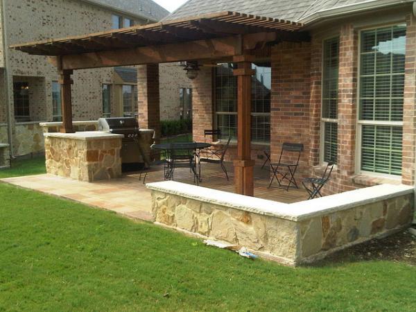 outdoor kitchens san antonio sears kitchen houston with cedar pergola - lone star