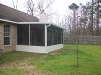 Patio With Screen Porch in Magnolia TX - Lone Star