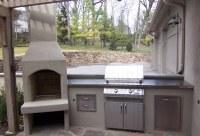 Stucco Outdoor Kitchen Design - Lone Star Patio Builders