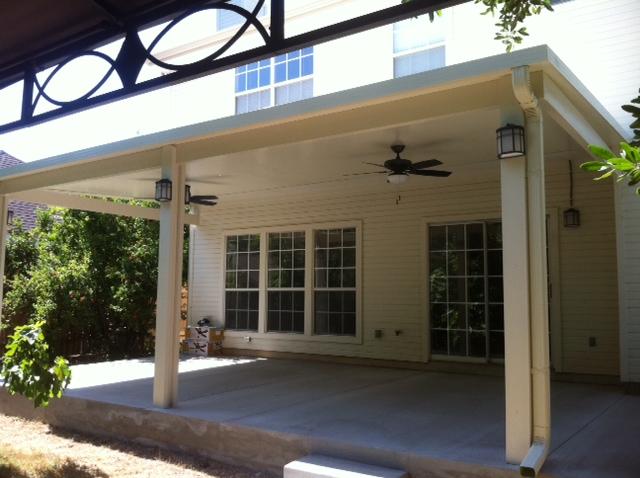 aluminum patio covers in houston lone