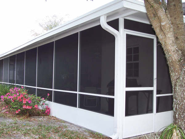 San Antonio Screened Porch  Lone Star Patio Builders