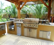 outdoor kitchens the woodlands