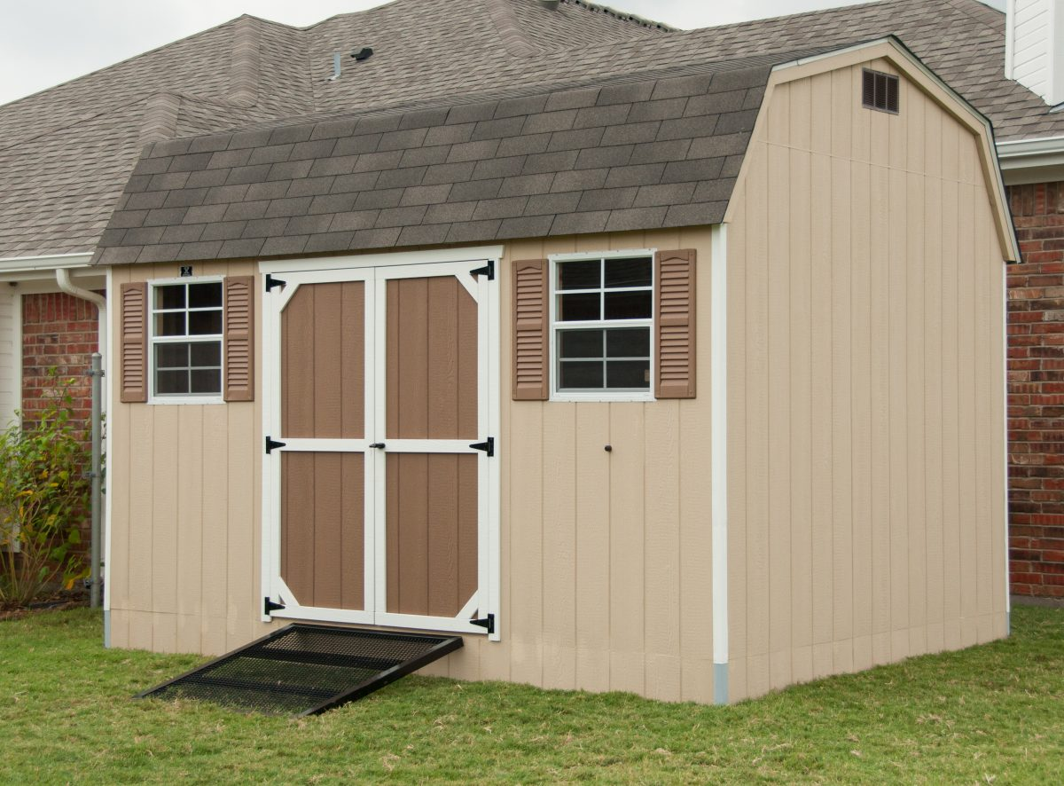 Outdoor Sheds For Sale in Texas  Dutch Barn  Lone Star
