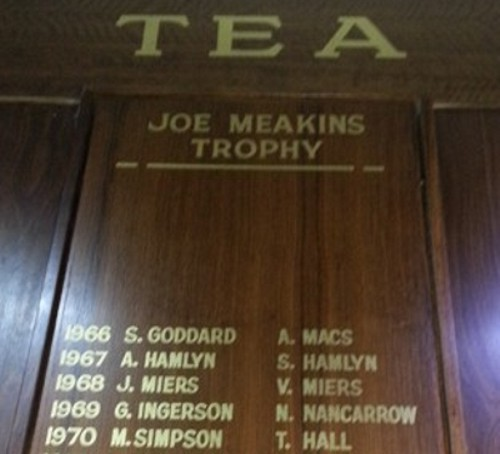 TTG Gold Club Honour Board 1
