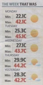 The Advertiser, 18 January 2014