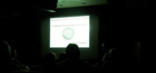 Kerry Farmer's talk on Convicts