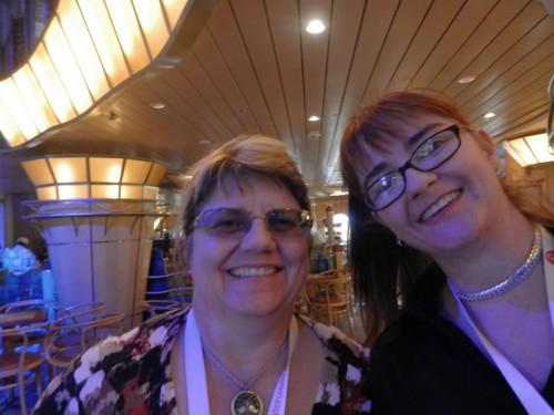 selfie: Helen Smith and me :-)