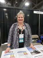 Lisa Alzo at RootsTech 2015