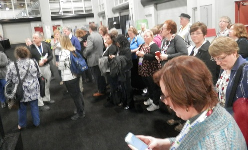 the Geneablogger Tour at RootsTech 2015