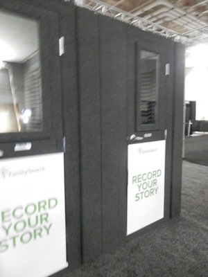 the Record Your Story booths