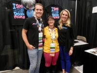 Alona Tester with the AncestorCloud team at RootsTech 2015