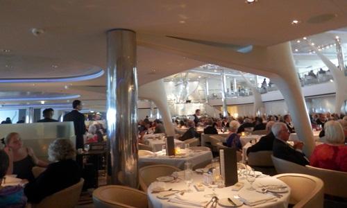 a small part of the  Moonlight Sonata (formal dining) restaurant
