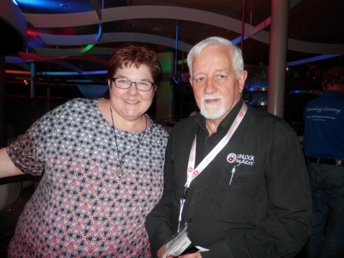 Cyndi Ingle with Alan Phillips