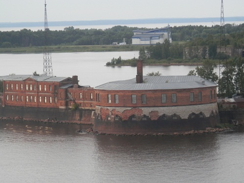 a fort at Kronstadt, Russia