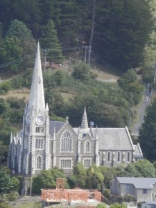 the Anglican Holy Trinity Church, Port Chalmers, Dunedin