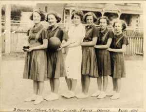 Thebarton Methodist Basketball Team, c.1937