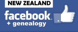 Facebook for New Zealand History and Genealogy