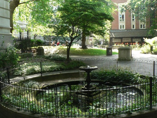 Postman's Park is really beautiful