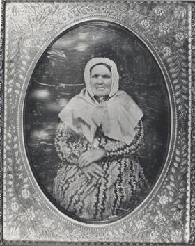 Susannah Hannaford (nee Elliott), c1860