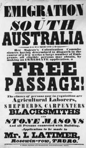 Emigration Poster - Java