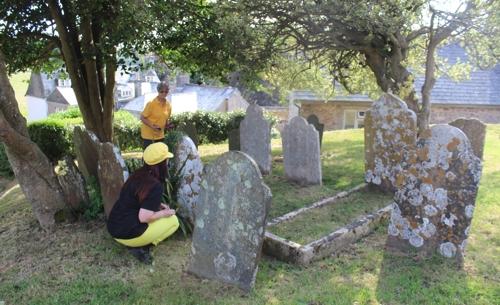 Berry Pomeroy churchyard Devon