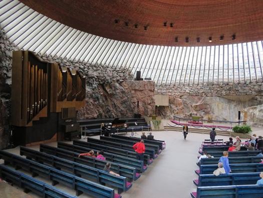 Rock Church, Helsinki, Finland